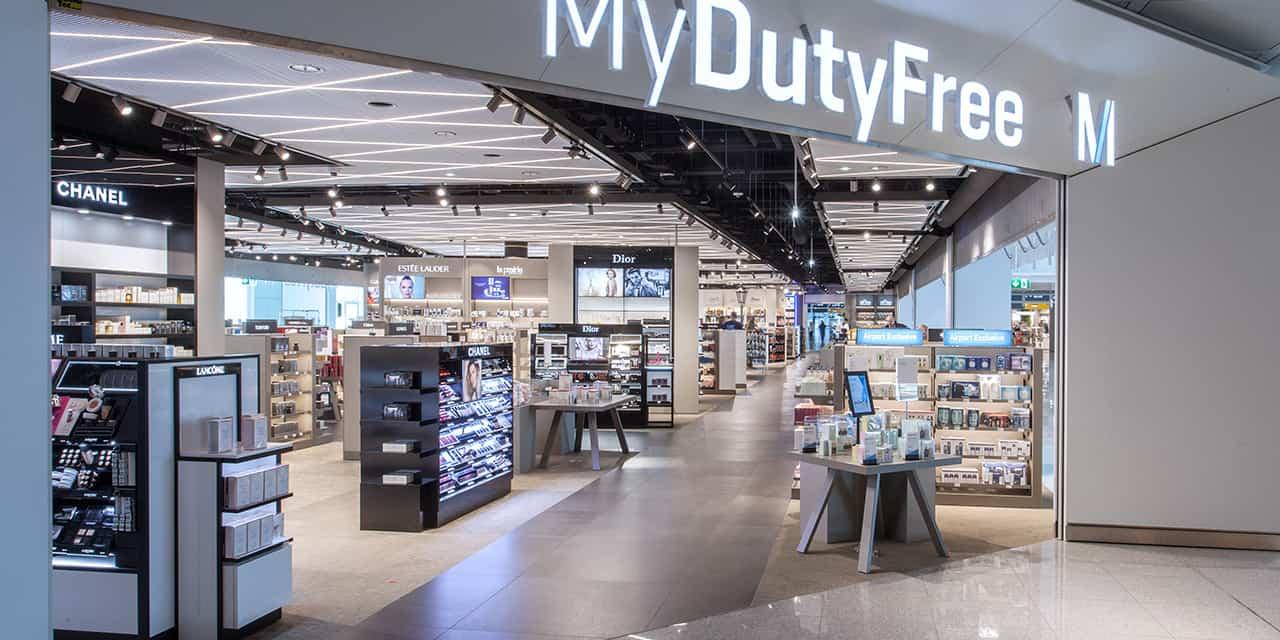 Munich Airport duty free