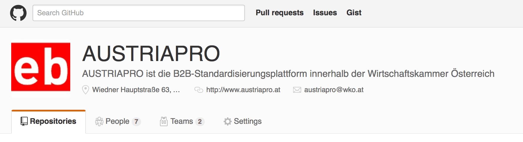 AUSTRIAPRO GitHub-Repository