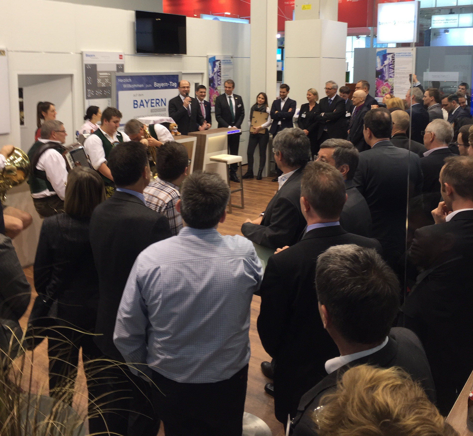 Standparty bei Bayern innovativ