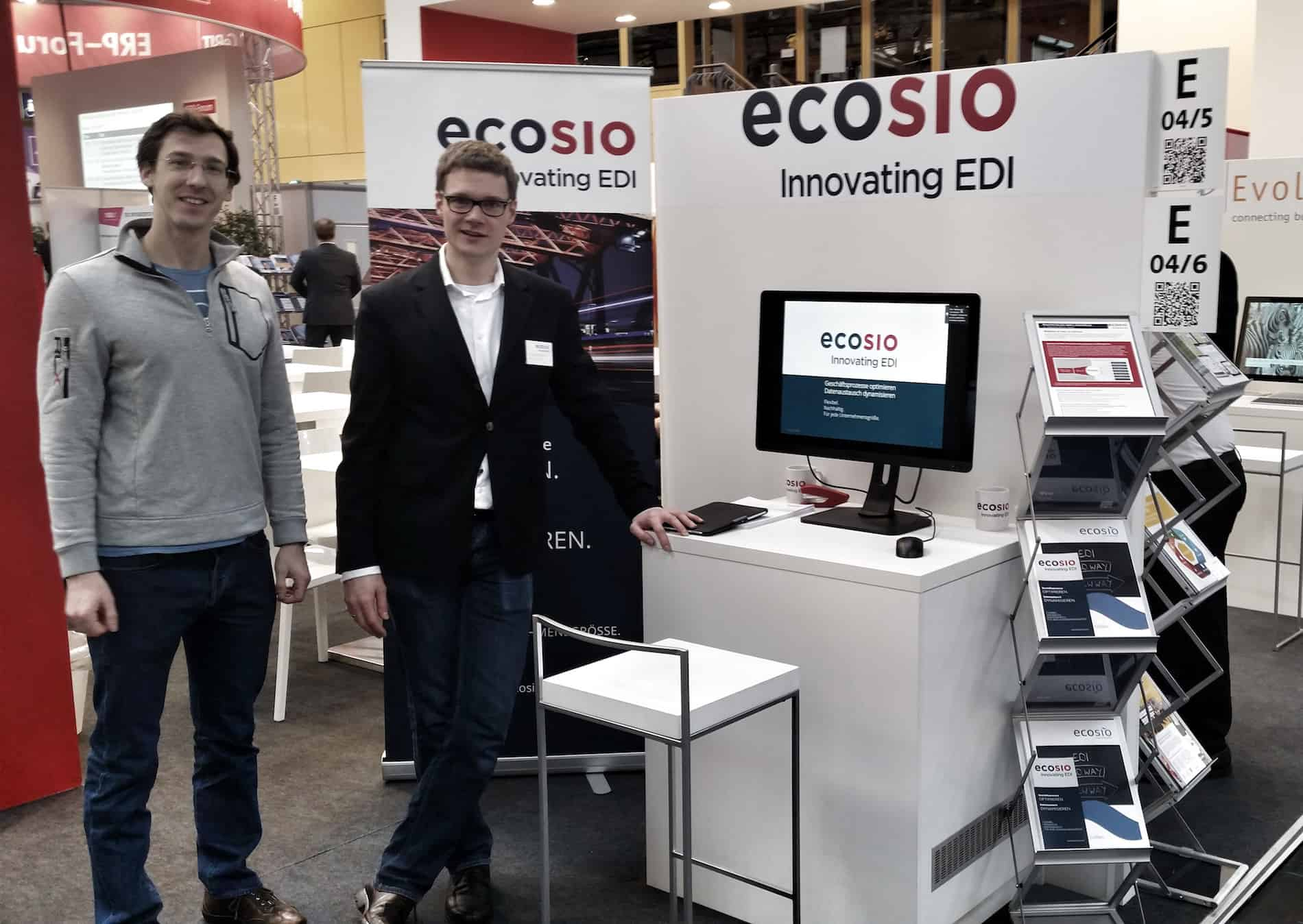 ecosio Messestand