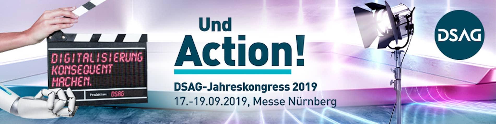 DSAG-Jahreskongress 2019 Banner