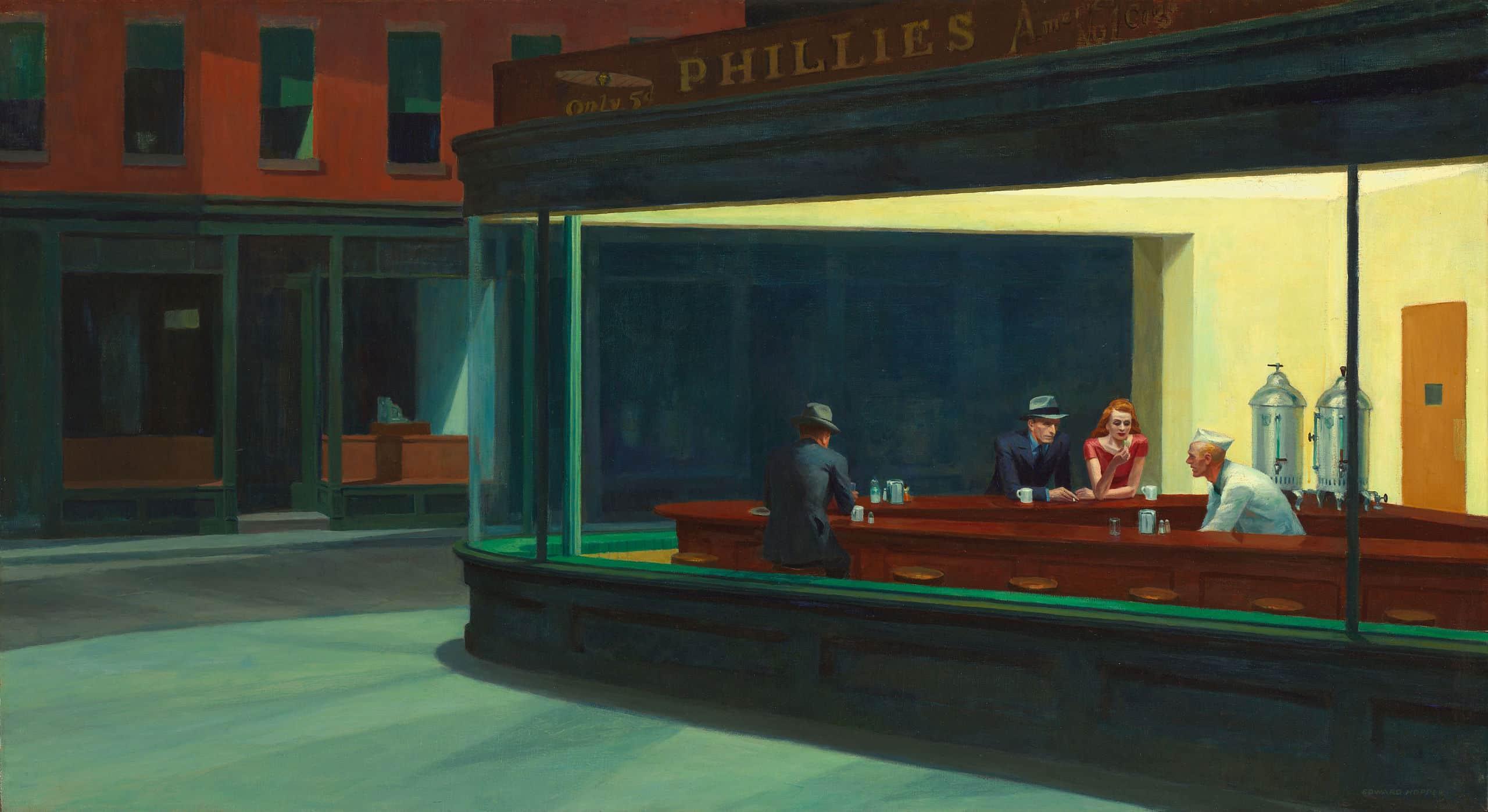 Ed Hopper's 'Nighthawks'