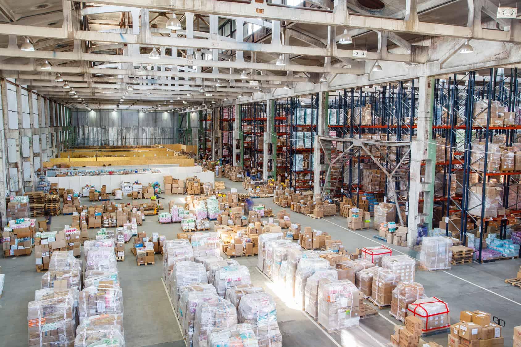 Inbound logistics in a warehouse