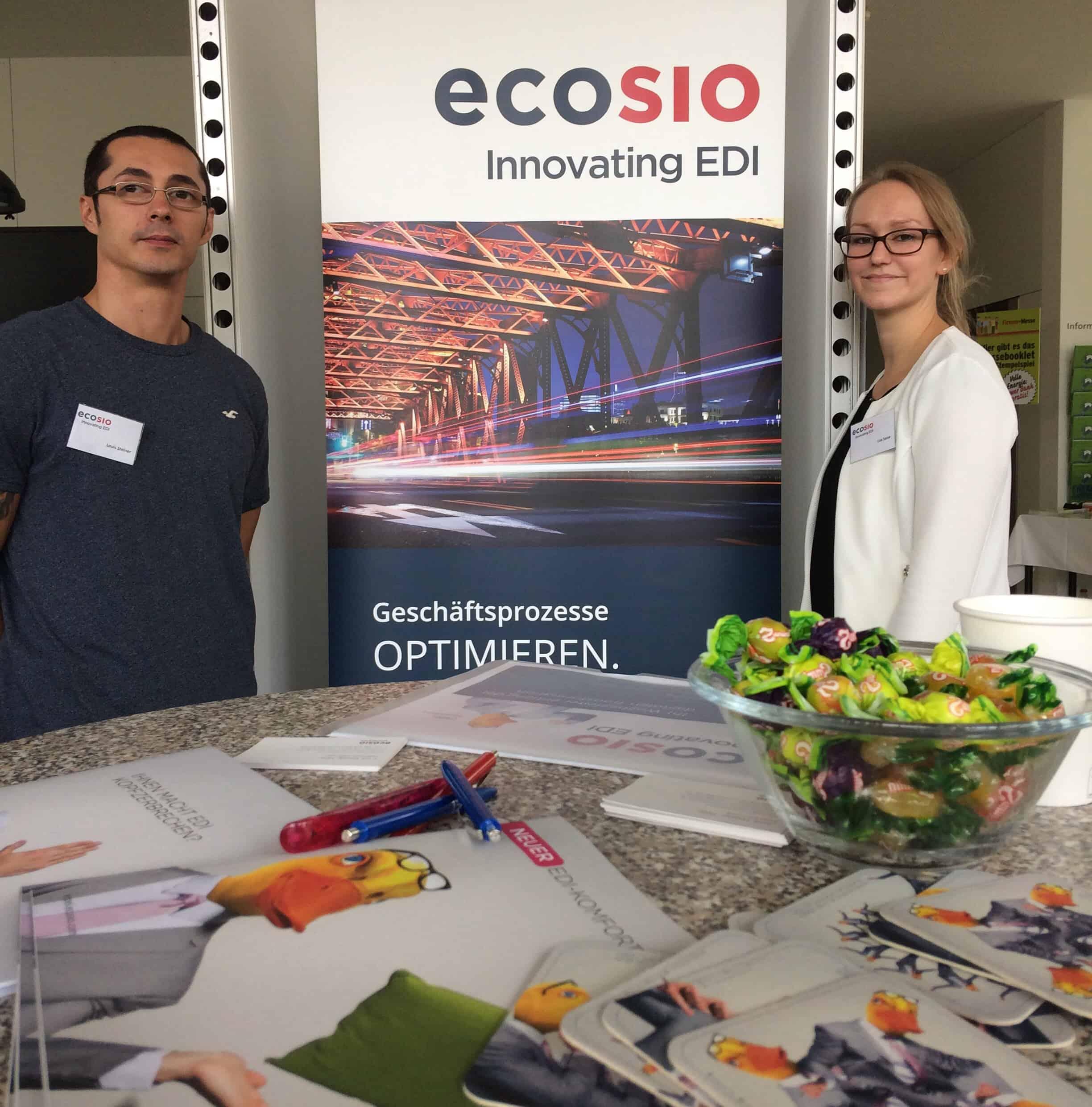 ecosio-Stand am FH Technikum Wien