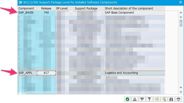 SAP product details