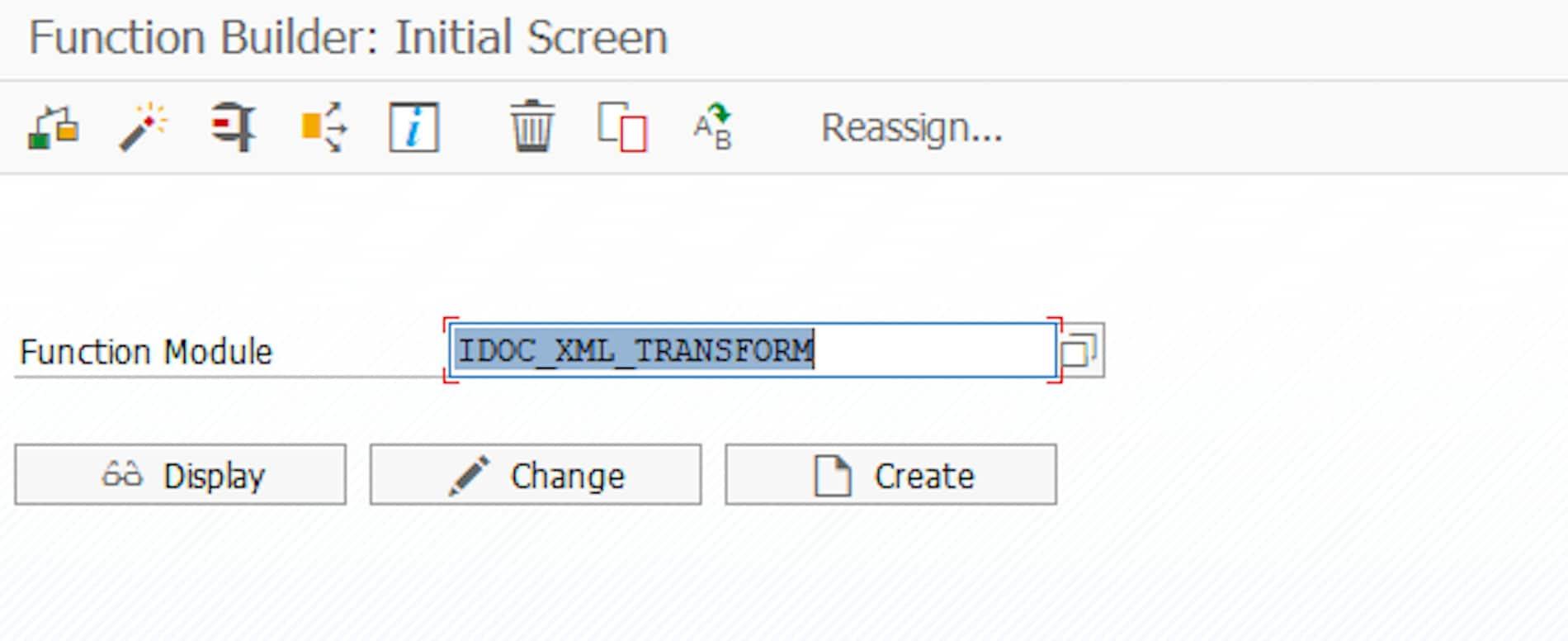 Transaction SE37 in SAP