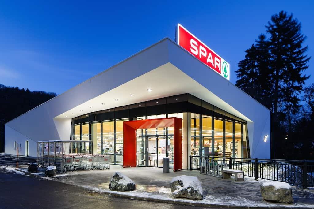 Eine Spar-Filiale in Österreich