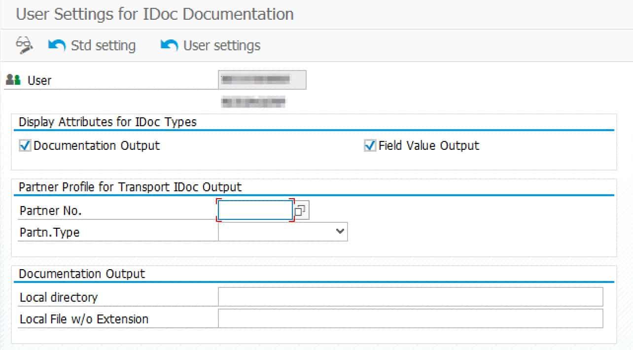 IDoc documentation export options