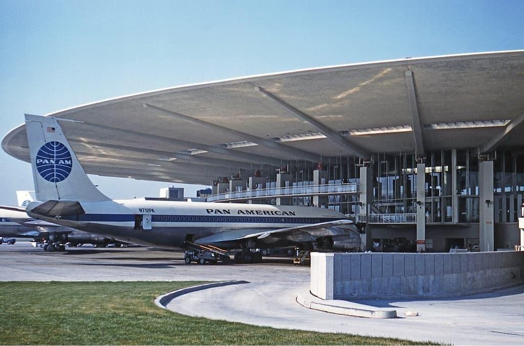 Worldport Terminal am Flughafen JFK