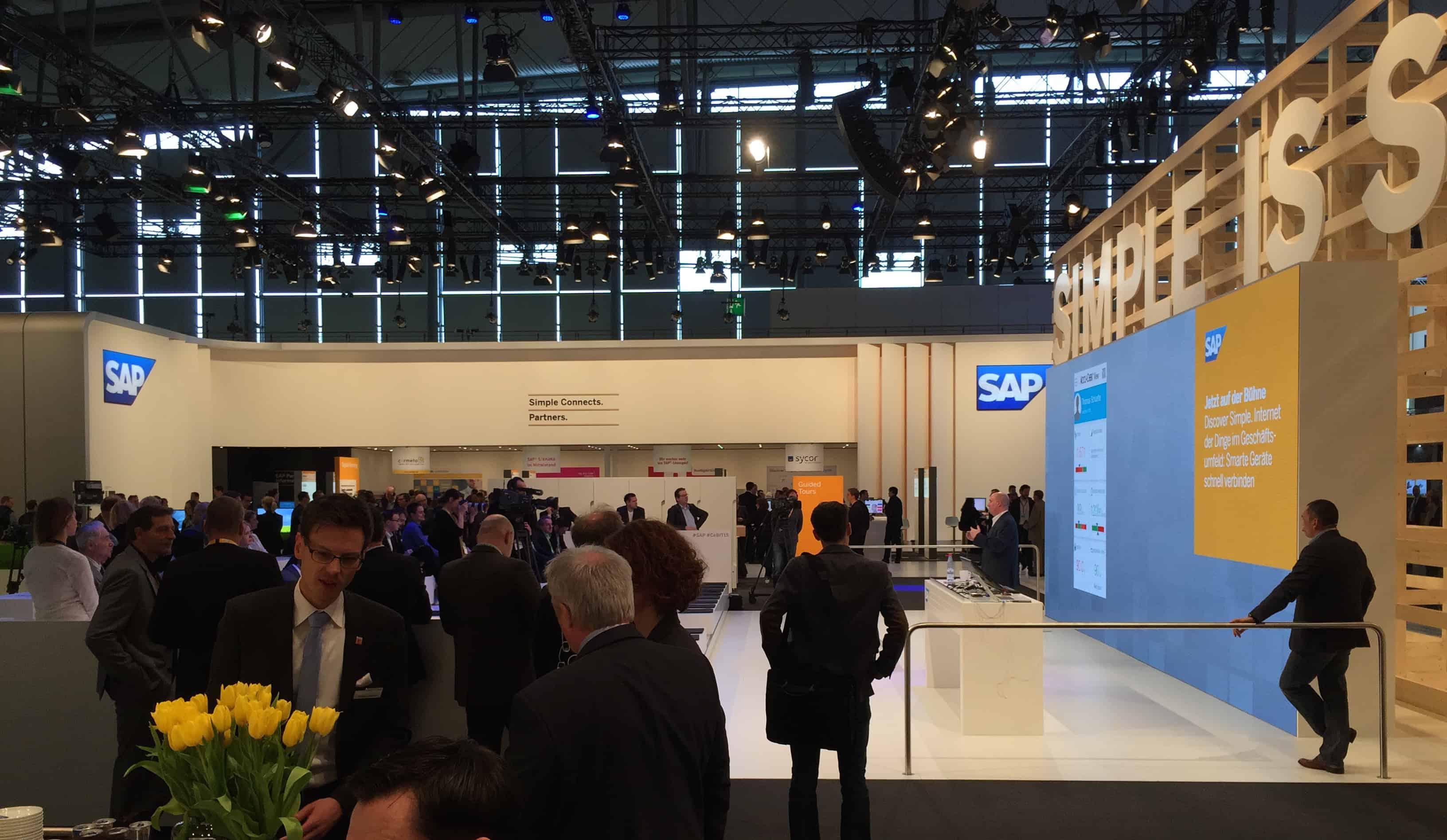 SAP Ausstellungsstand