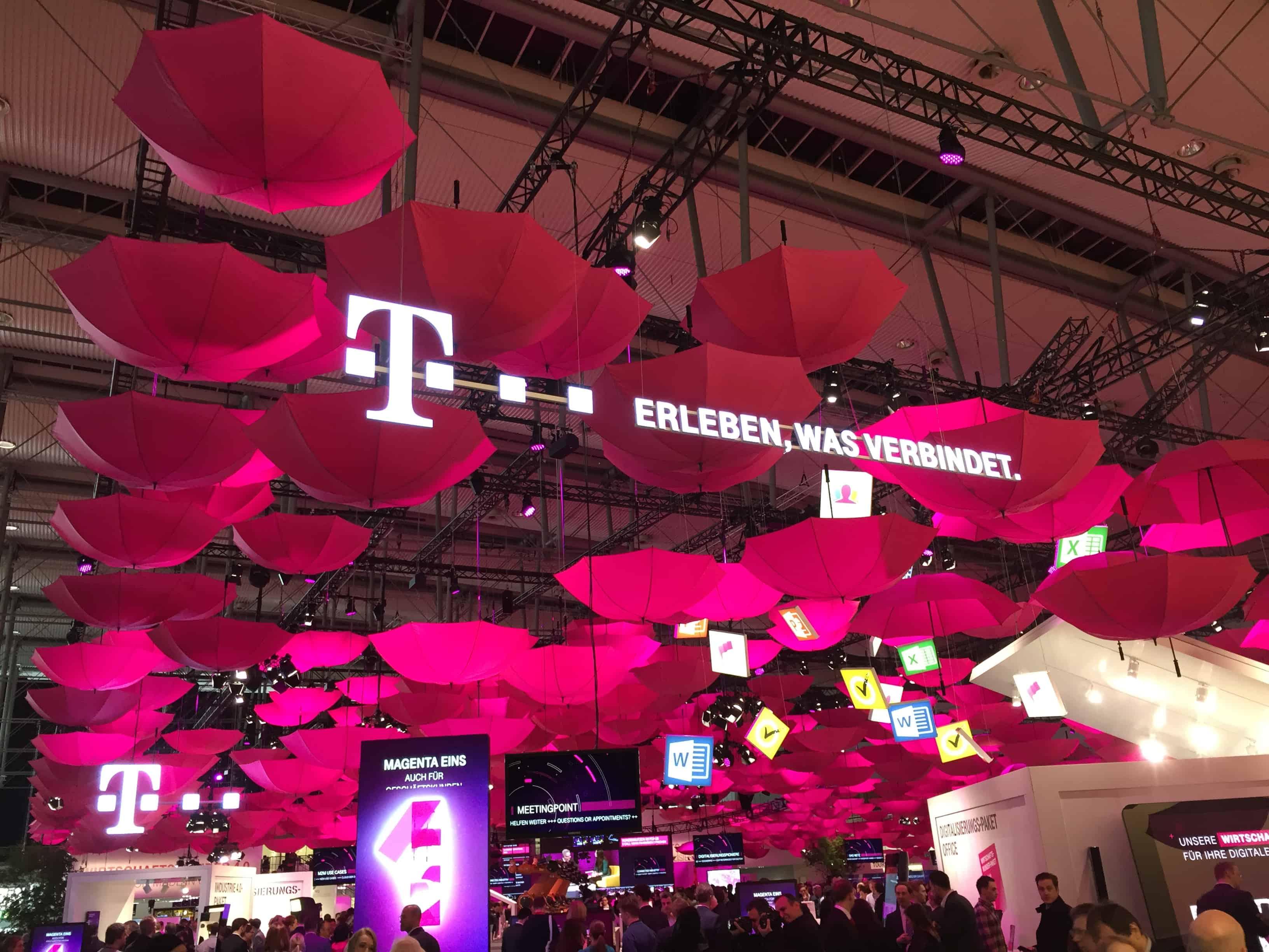 Stand der deutschen Telekom