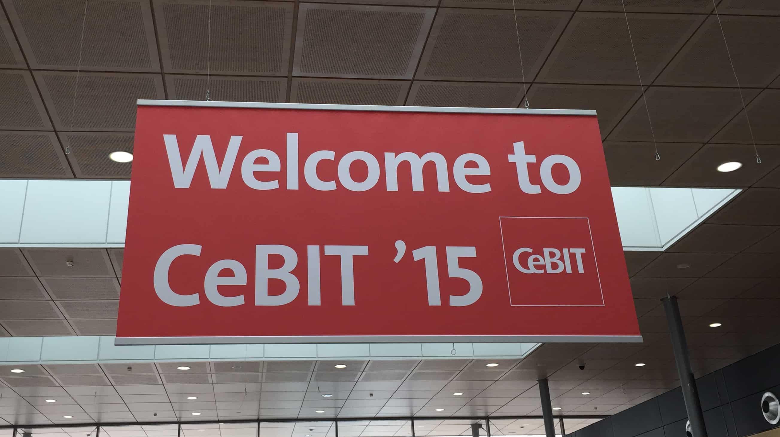 Willkommen zur CeBIT