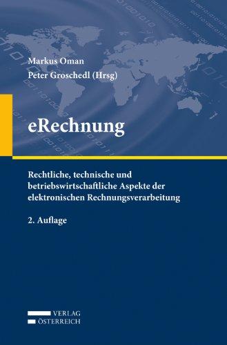 Buchcover 'eRechnung'