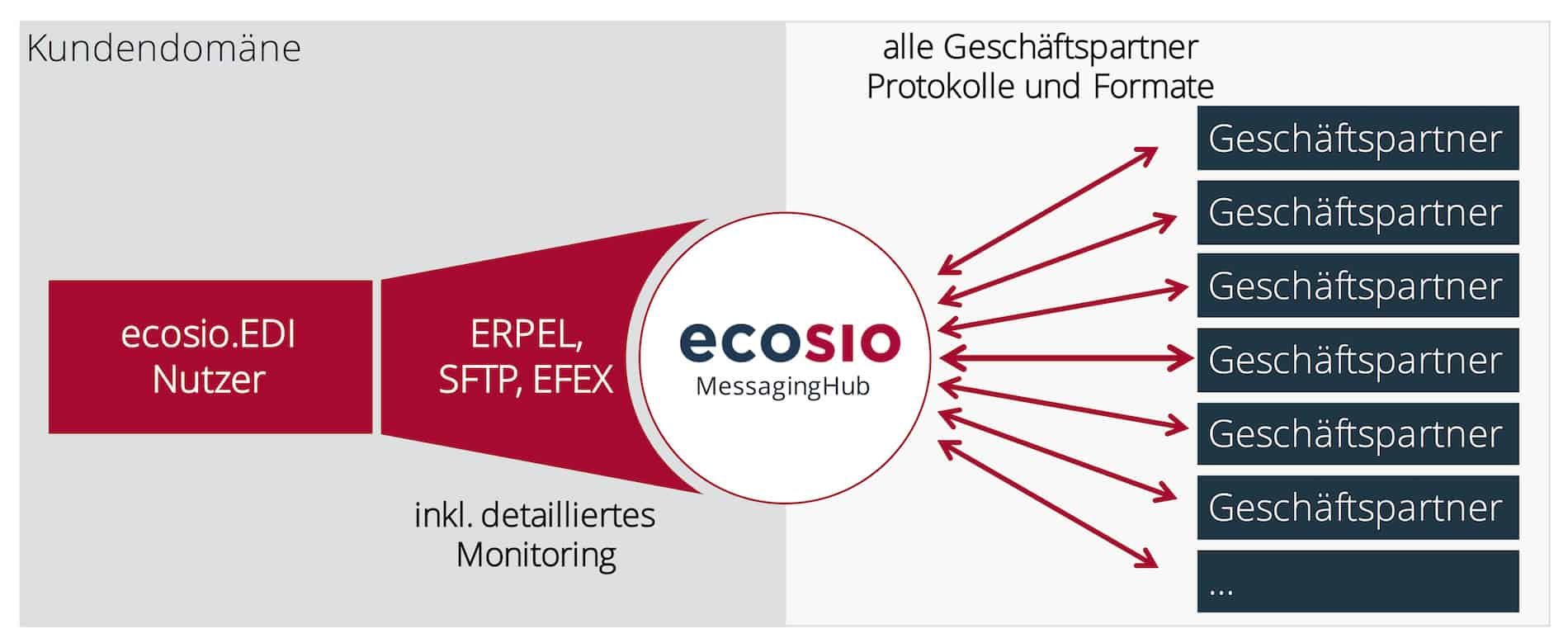 Managed EDI-Services von ecosio