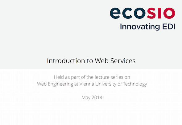 Unternehmensintegration mit Hilfe von Web Services