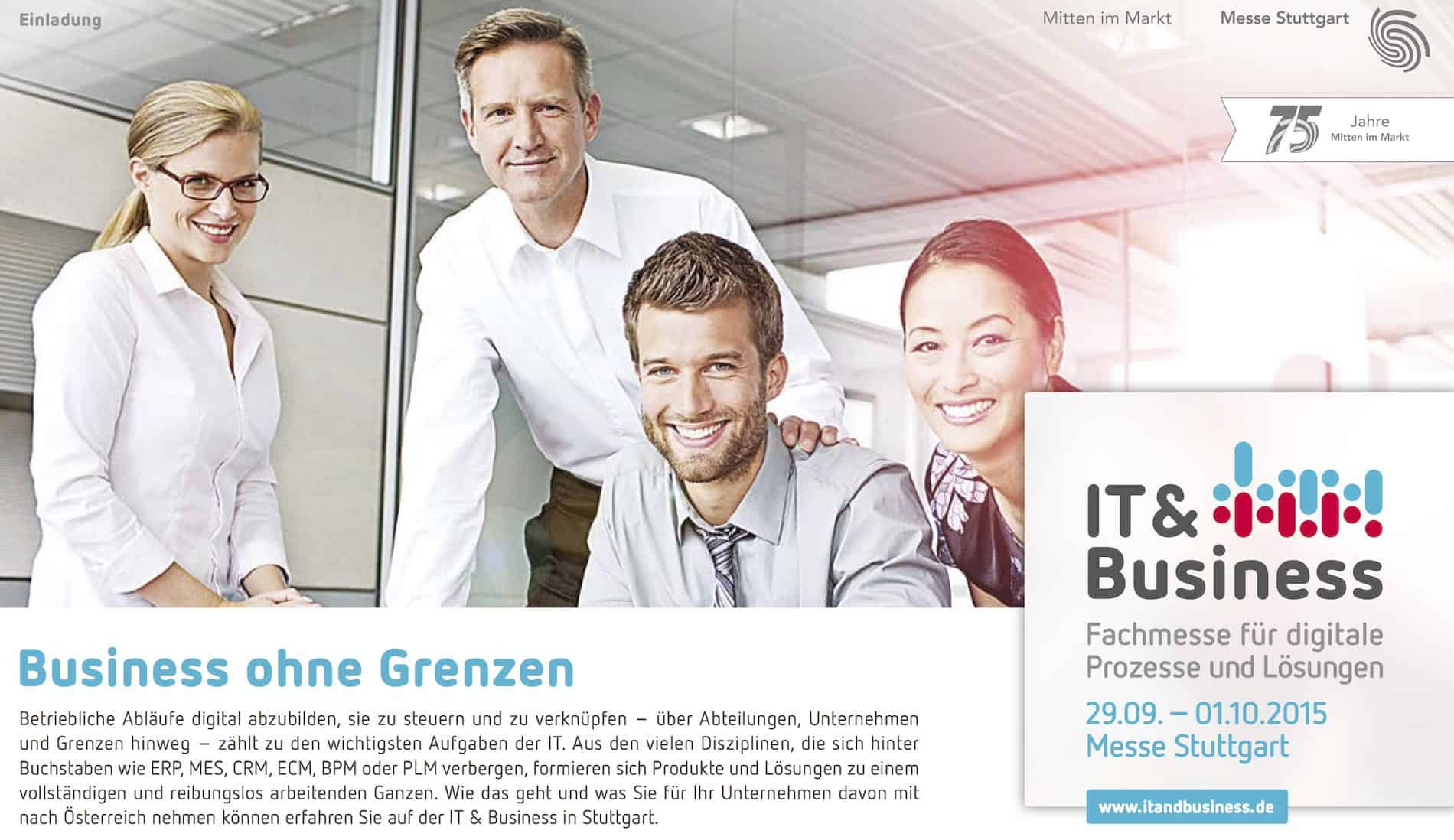 IT & Business Messe in Stuttgart