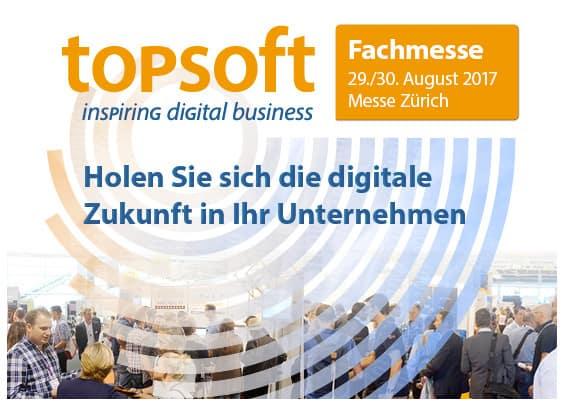 topsoft-Messe 2017 in Zürich