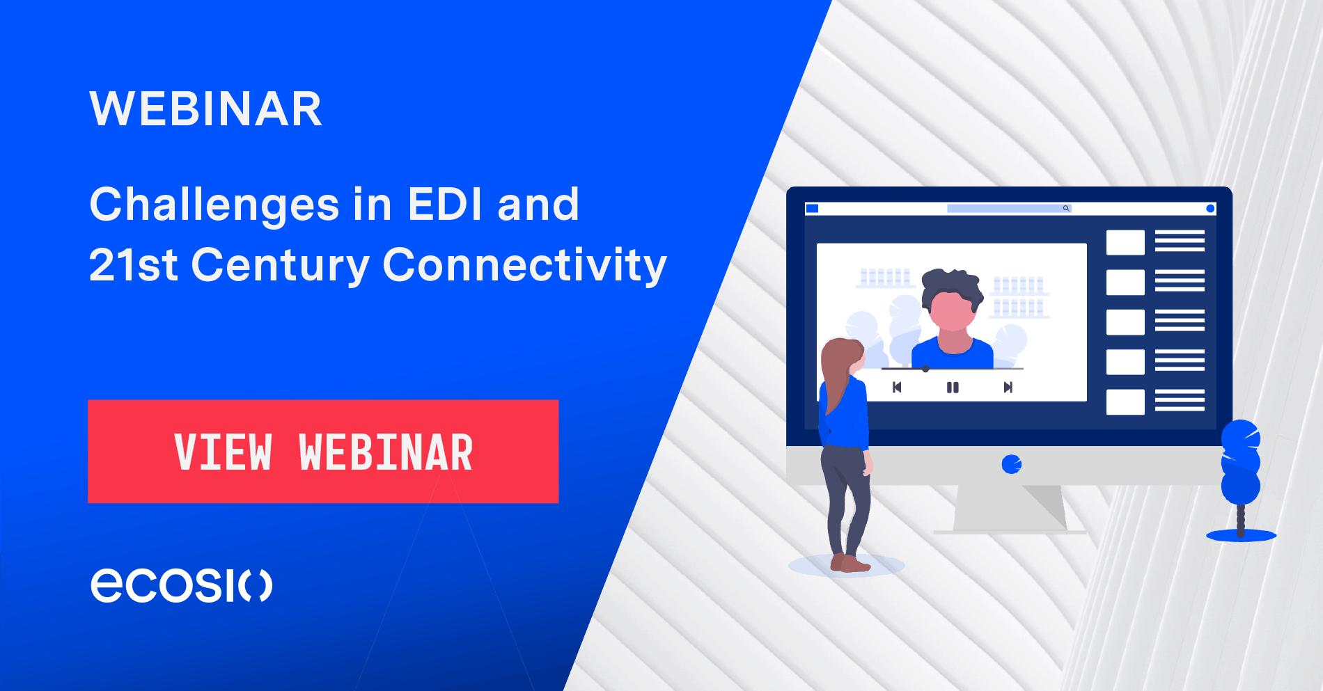 Webinar - Challenges in 21st Century Connectivity