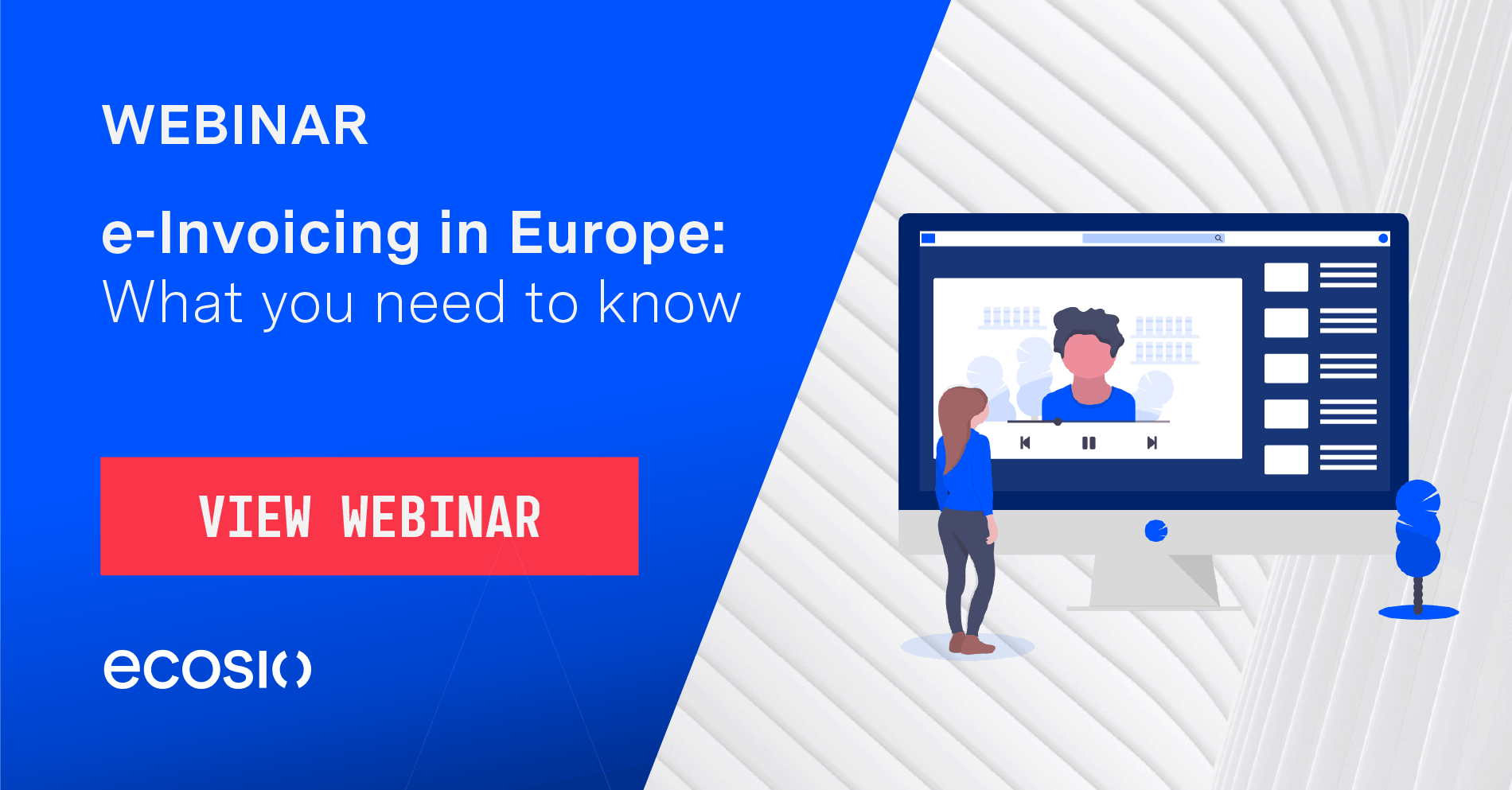 Webinar - e-Invoicing in Europe