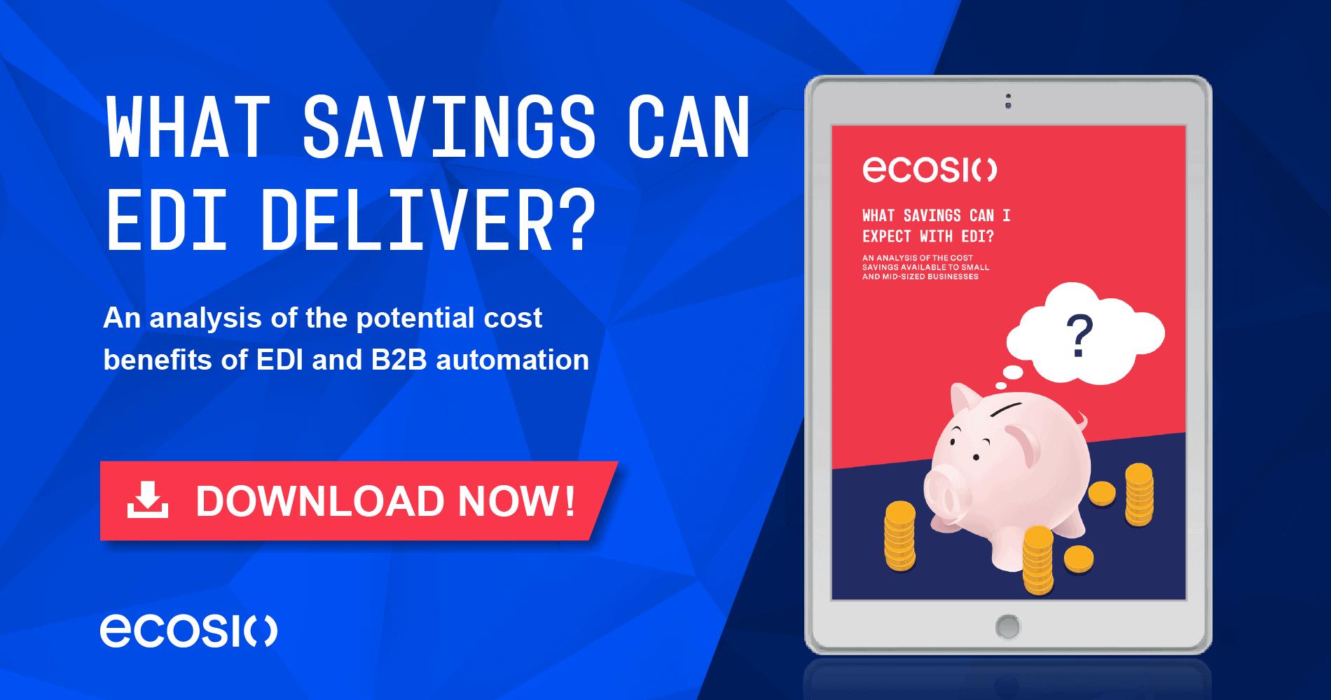 White Paper - Cost benefits of EDI