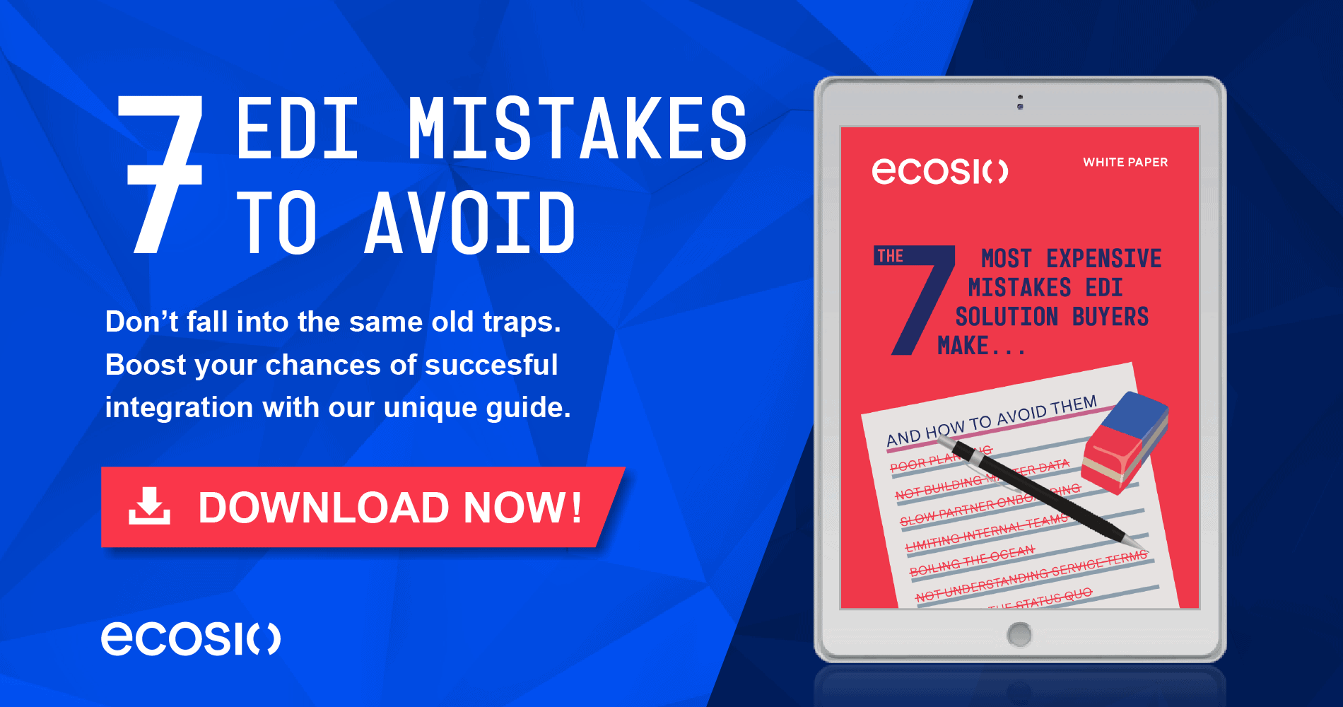 White Paper - 7 Mistakes EDI Solution Buyers Make