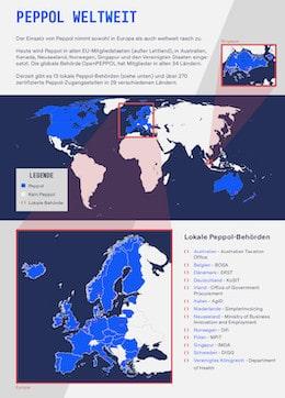 Peppol Map vorschau