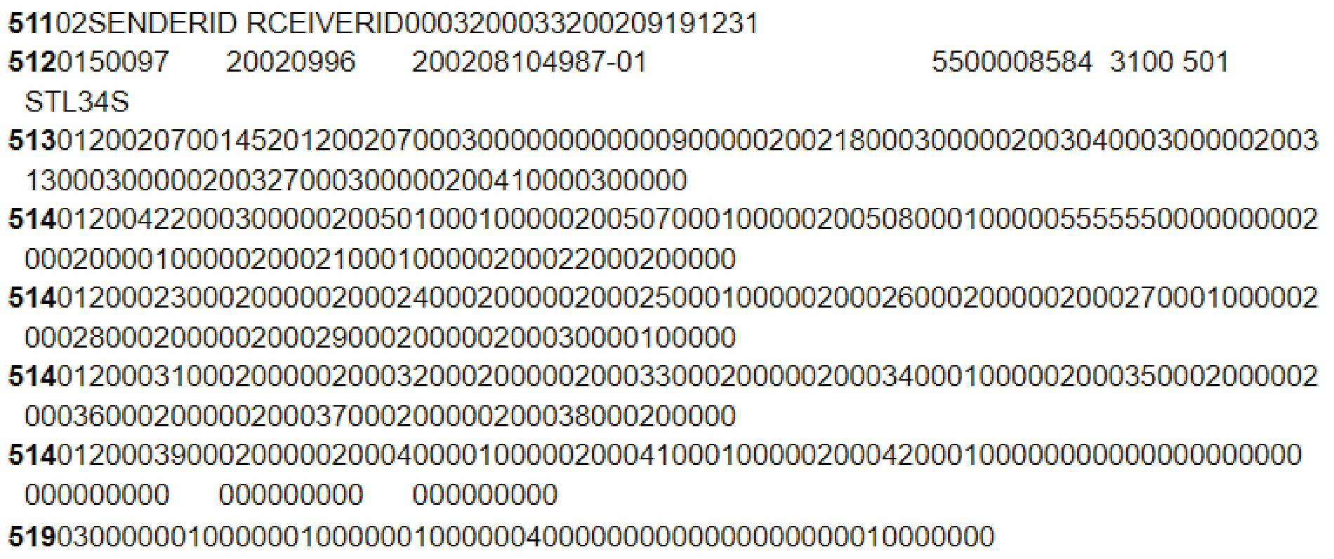 VDA - EDI File Formats