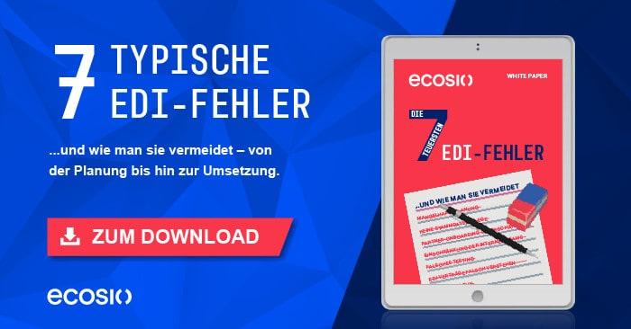 Teaser White Paper Mit EDI effektiv Kosten sparen