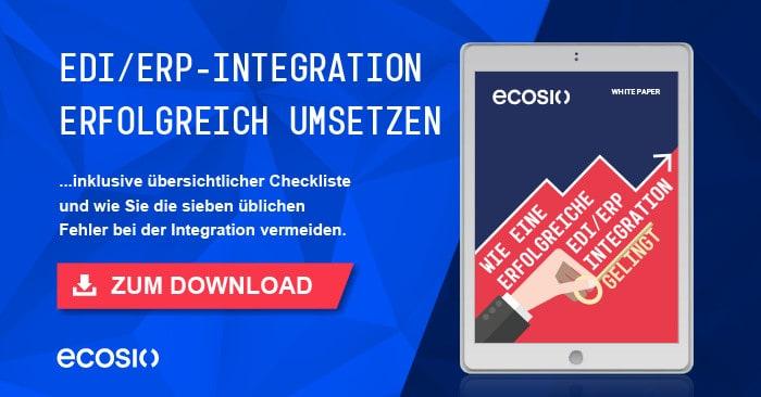 Teaser White Paper Wie eine erfolgreiche EDI ERP-Integration gelingt