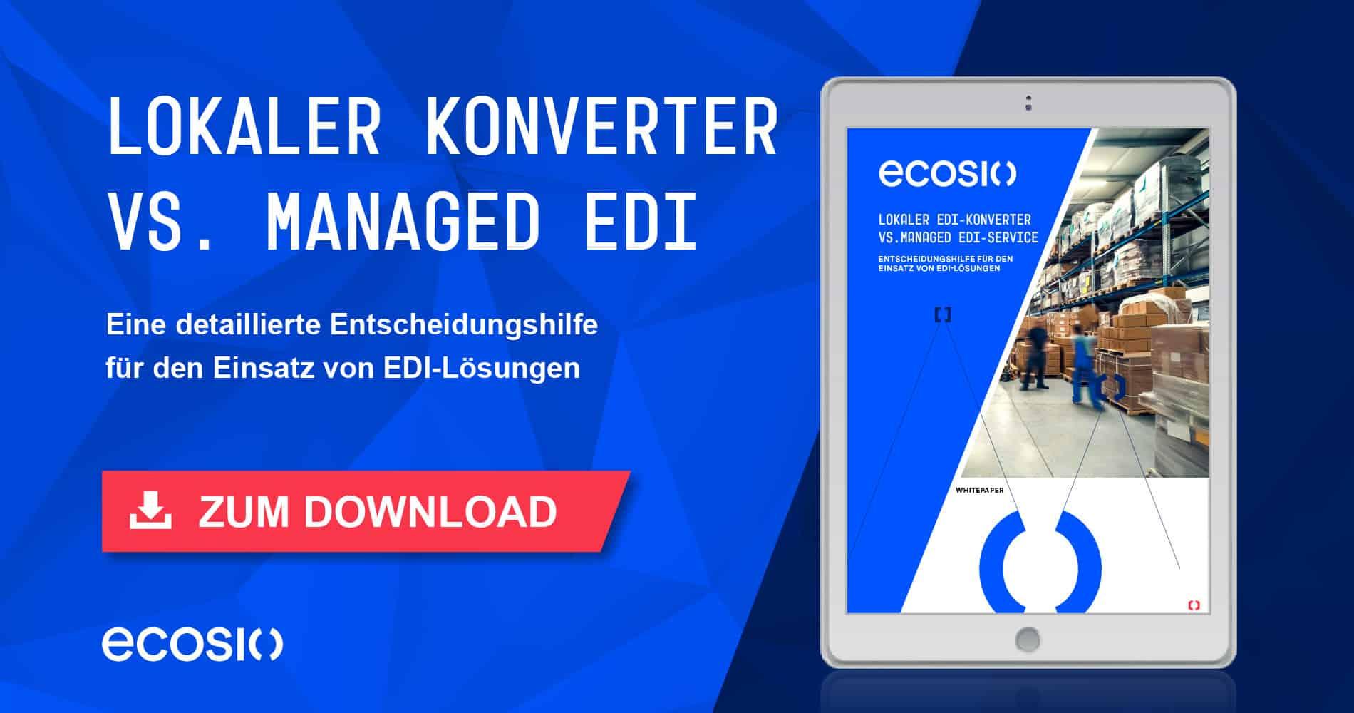 White Paper – Lokaler EDI-Konverter vs. Managed EDI-Service