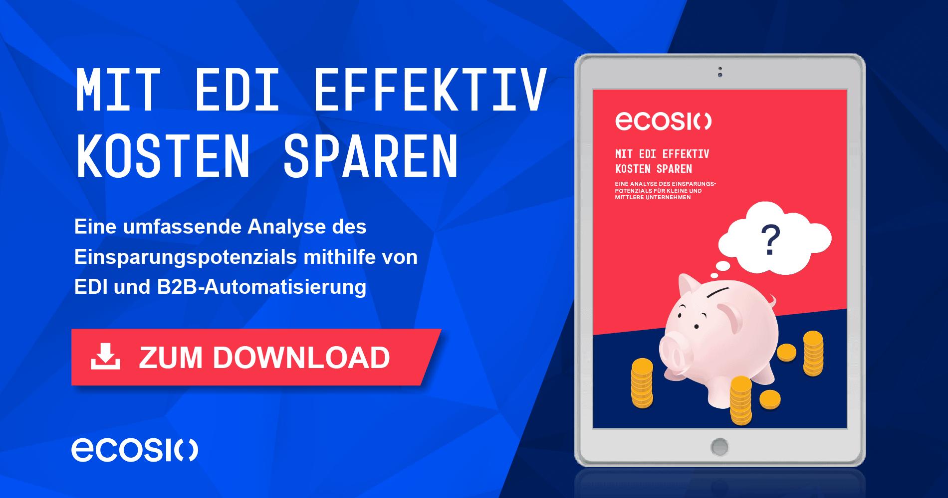 White Paper - Mit EDI effektiv Kosten sparen