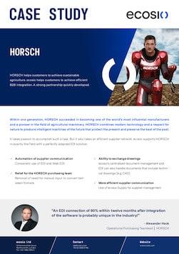 HORSCH Case Study Preview