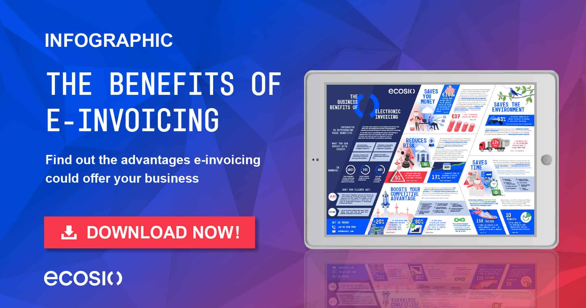 Infographic - The Benefits of E-invoicing